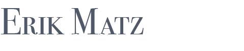 www.erikmatz.de